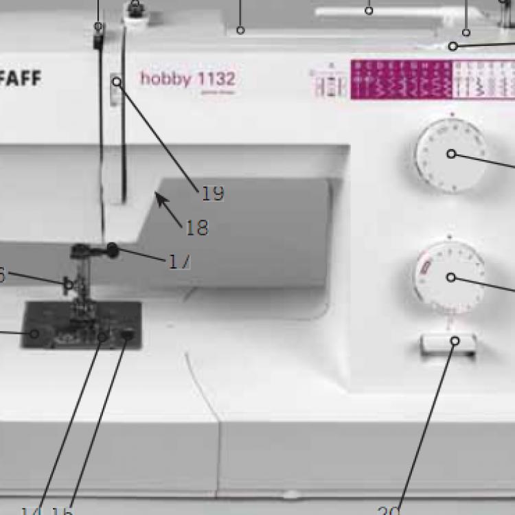 Sewingmachine Pfaff Hobby 40 40 Magnificent Pfaff Hobby 1122 Sewing Machine