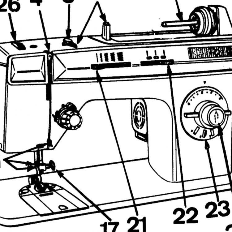 Sewingmachine Singer 1195