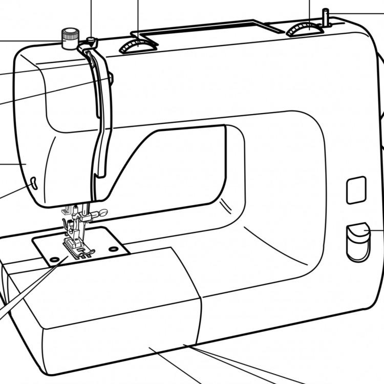 10 x Aiguilles pour Toyota RS2000 domestique Machine à coudre